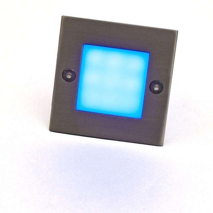 Lampe-à-encastrer-LED-LEDlite-Square-7-bleu