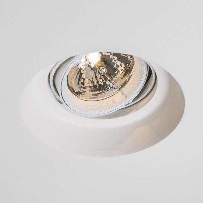 Spot-encastrable-Gipsy-Zero-round-I-G53-AR111