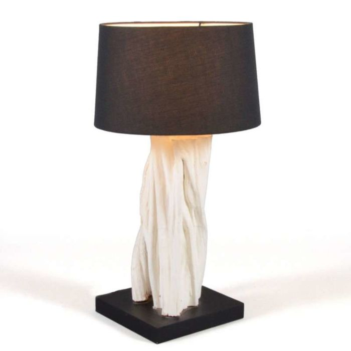 Lampe-de-table-Arich-avec-abat-jour-noir