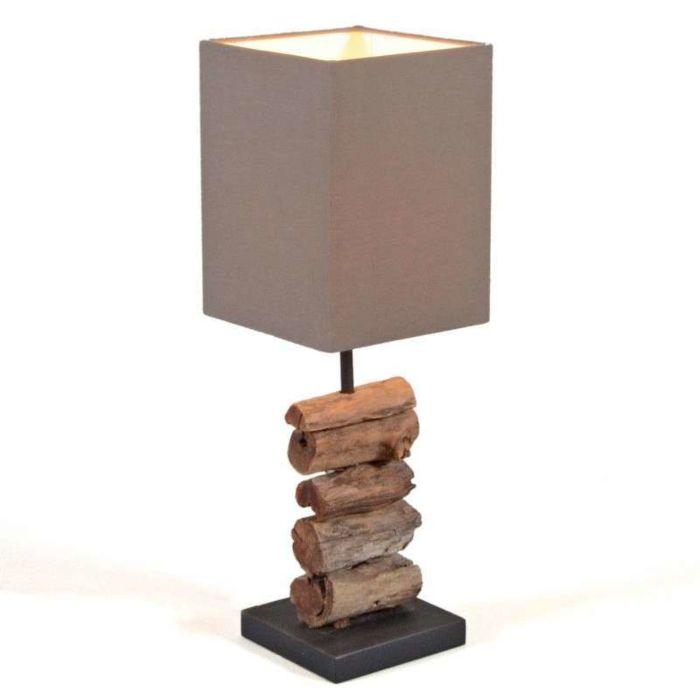 Mayoree-lampe-de-table-avec-abat-jour-marron