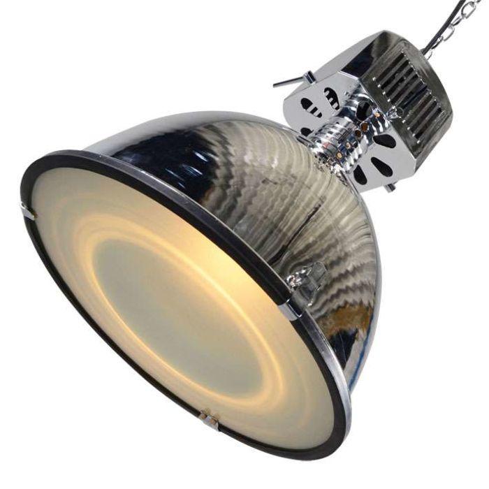 Lampe-à-suspension-Classic-Industry-2,-chrome