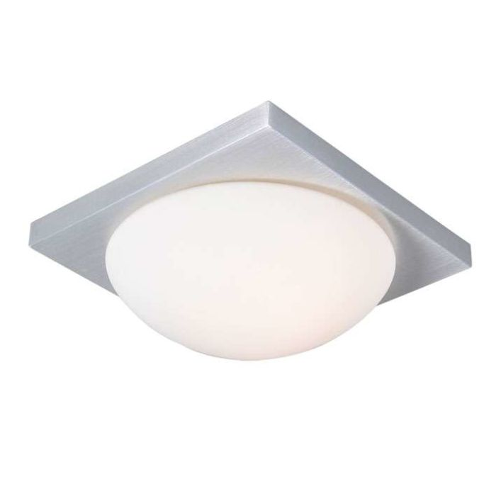Plafonnier-Menta-25-carrée-en-aluminium