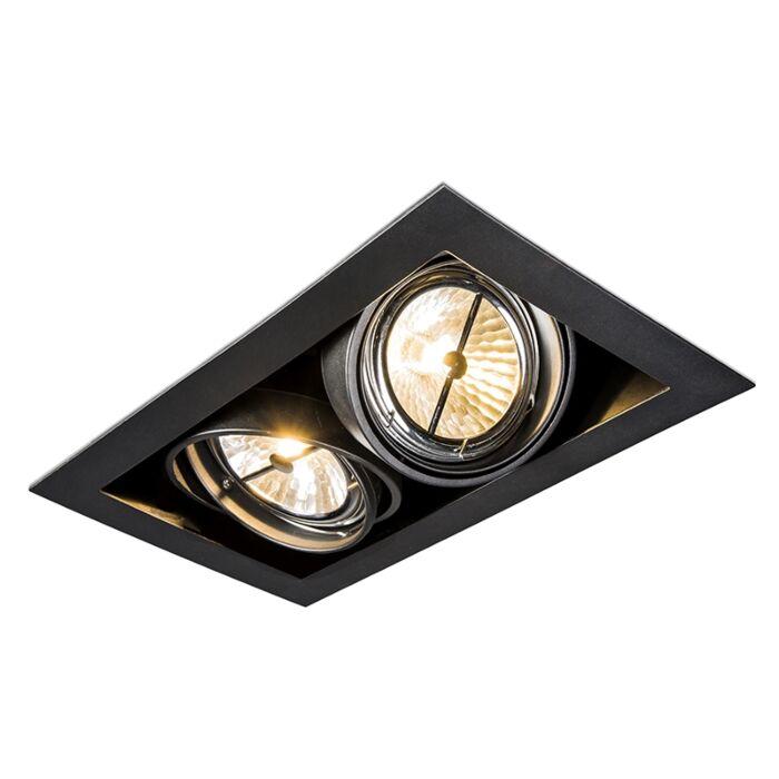 Spot-encastrable-rectangulaire-noir---Oneon-111-2