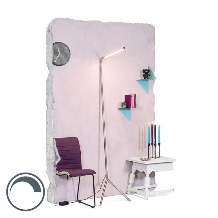 Lampadaire-Lazy-Lamp-acier
