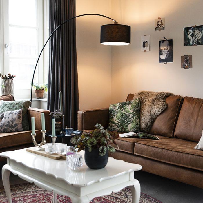 Lampe-à-arc-moderne-noire---Vinossa