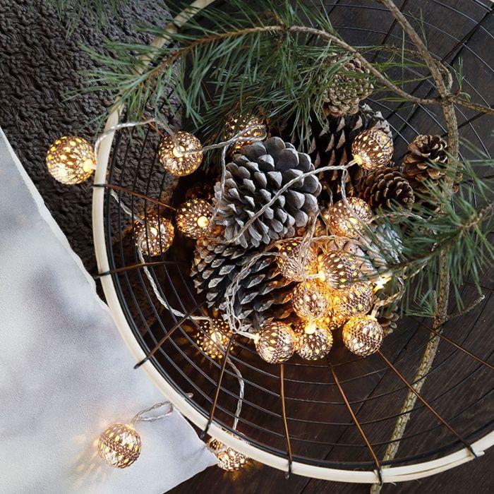 Éclairage-de-Noël-cordon-lumineux-Bal-20-LED-blanc-chaud-3,8-mètres