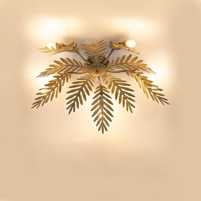 Plafonnier-Vintage-à-5-Lumières---Botanica