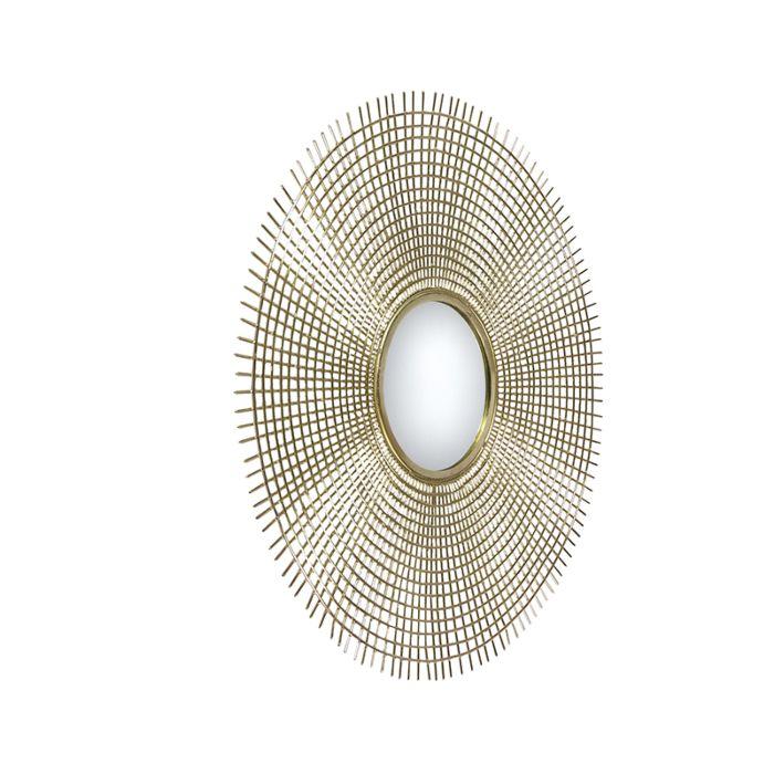 Miroir-rond-art-déco-78-cm-doré---Edda