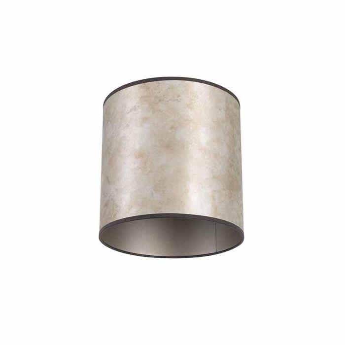 Abat-jour-25/25/25-zinc---taupe