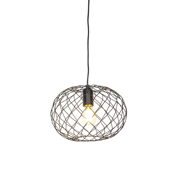 Lampe-suspendue-design-noir---Helian