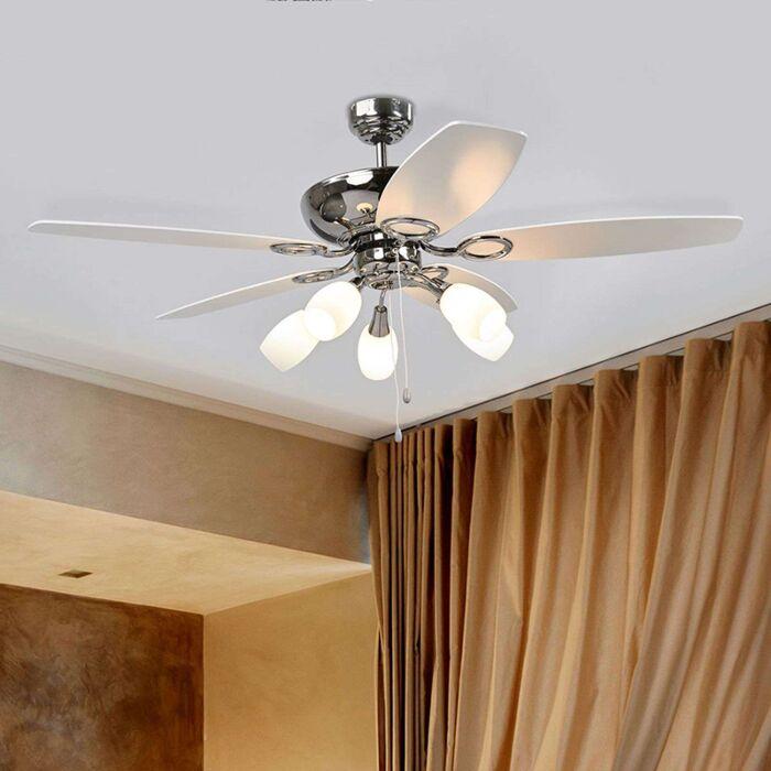 Ventilateur-de-plafond-moderne---Cedrik