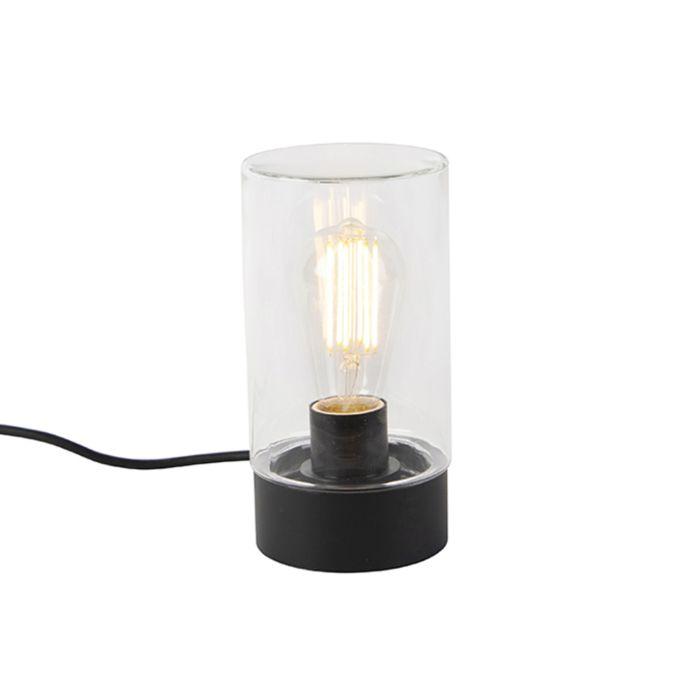Lampe-de-table-d'extérieur-moderne-noir-IP44---Jarra