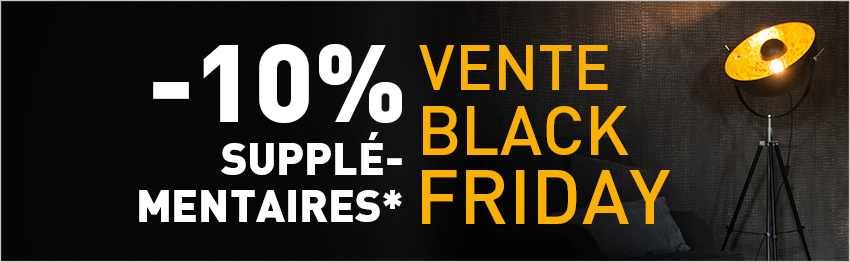 Black Friday Vente