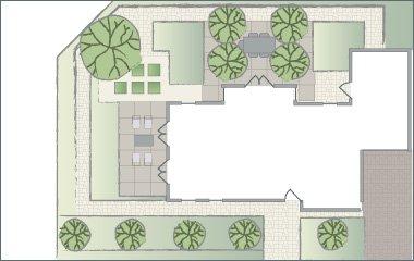 un plan d'éclairage pour votre jardin