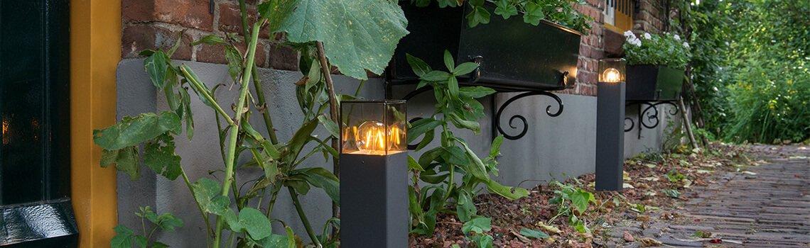 Éclairage de jardin - banner